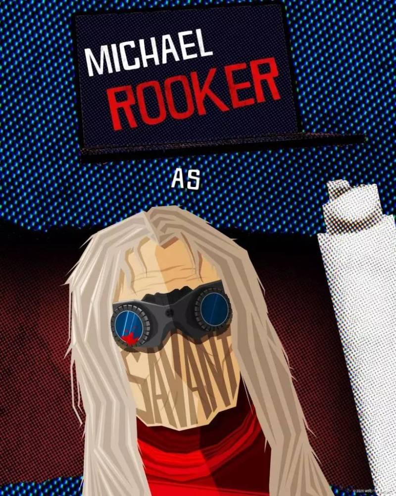 Michael Rooker - Savant - O Esquadrão Suicida - James Gunn - Blog Farofeiros