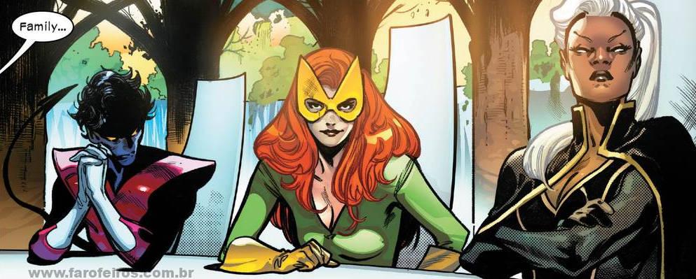 Noturno - Garota Marvel - Tempestade - X-Men - O Conselho de Krakoa - Blog Farofeiros