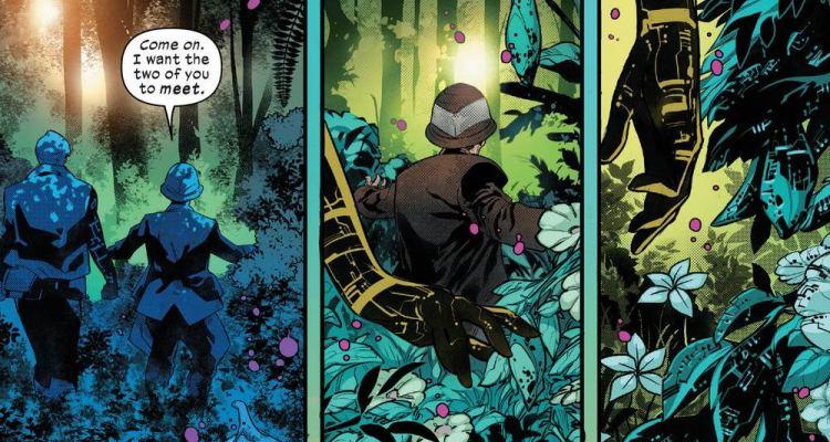 O Diamante Vermelho de Powers of X #4 - Cifra e Krakoa tecnorgânicos - X-Men - Blog Farofeiros