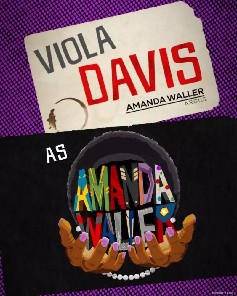 Viola Davis - Amanda Waller - O Esquadrão Suicida - James Gunn - Blog Farofeiros