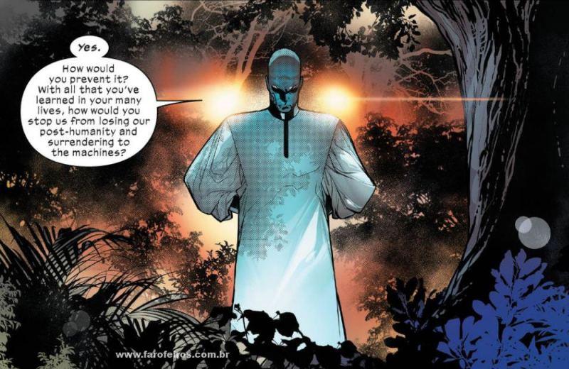 Bibliotecário - Homo Novissima - Powers of X - Poderes dos X - X-Men - Marvel Comics - Blog Farofeiros