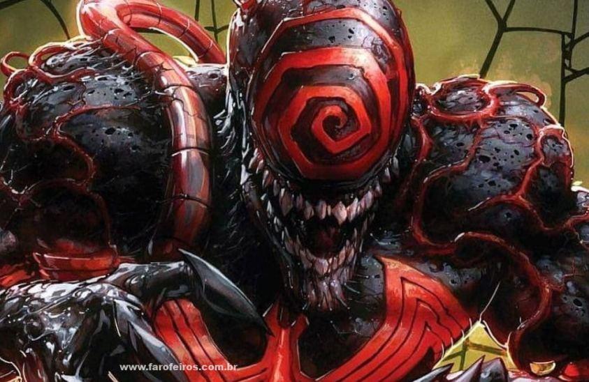 Carnificina - Marca de Knull - Os simbiontes da Marvel Comics - Blog Farofeiros