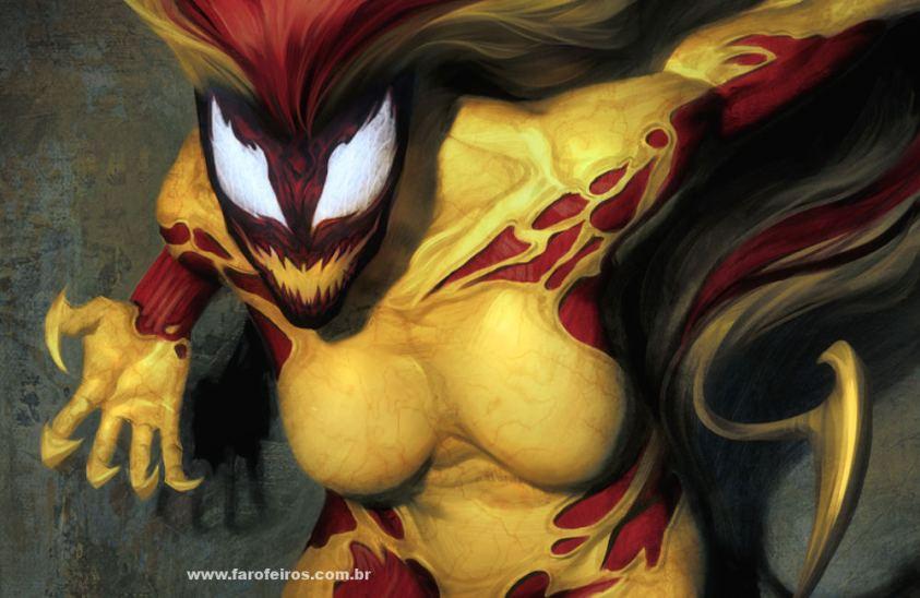 Grito - Os simbiontes da Marvel Comics - Blog Farofeiros