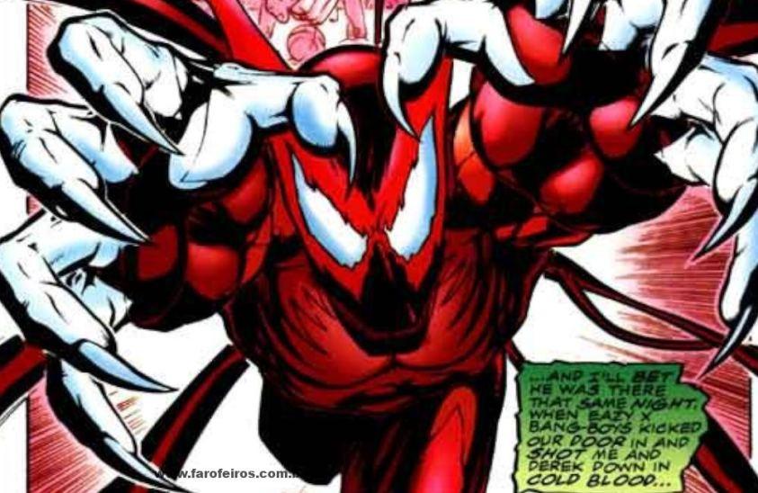 Híbrido - Quadrinhos - Os simbiontes da Marvel Comics - Blog Farofeiros