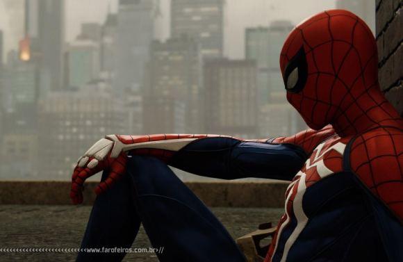 Homem Aranha triste - PS4- Achei errado - Blog Farofeiros