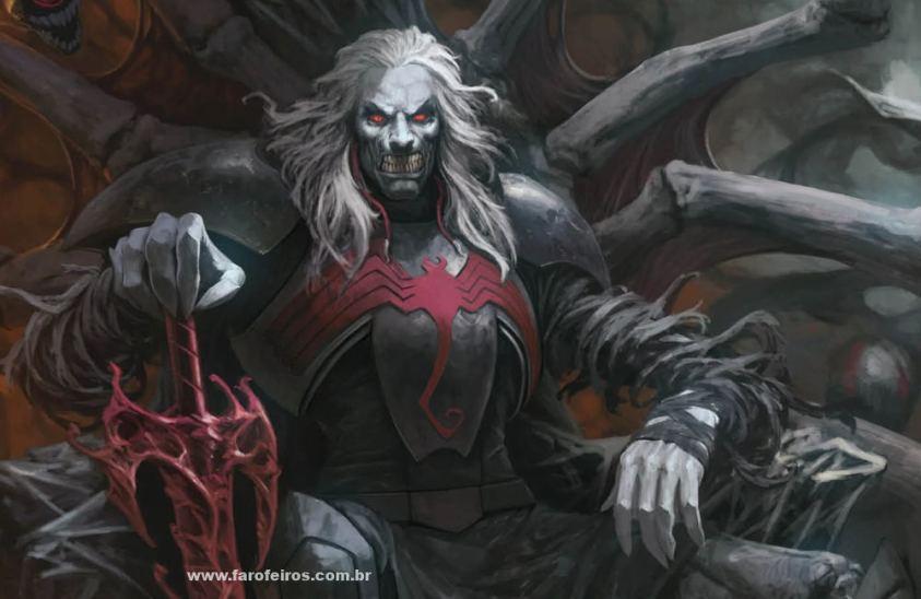 Knull - Os simbiontes da Marvel Comics - Blog Farofeiros