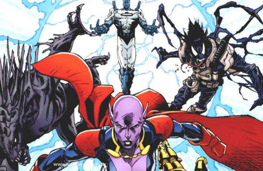 Zzxz - Zzzxx - Quadrinhos - Os simbiontes da Marvel Comics - Blog Farofeiros