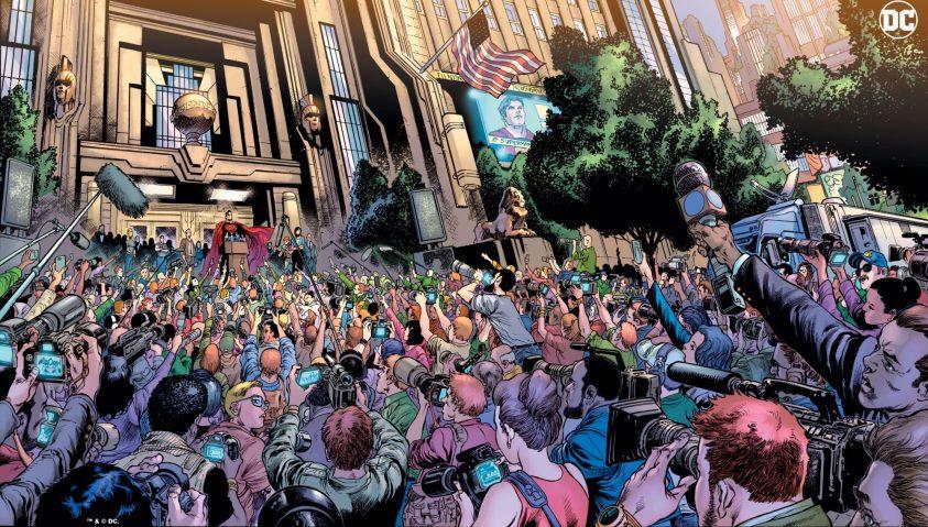 Clark Kent é o Superman - Preview Superman #18 - 1 - Blog Farofeiros