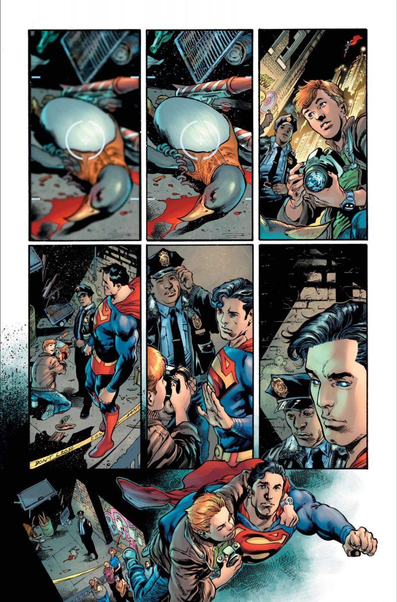 Clark Kent é o Superman - Preview Superman #18 - 4 - Blog Farofeiros
