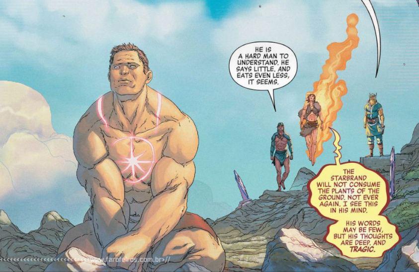 O primeiro super herói da Marvel foi um dinossauro - Vingadores - Estigma - Avengers #26 - Blog Farofeiros - Vnn - Vingadores 1000000 AC