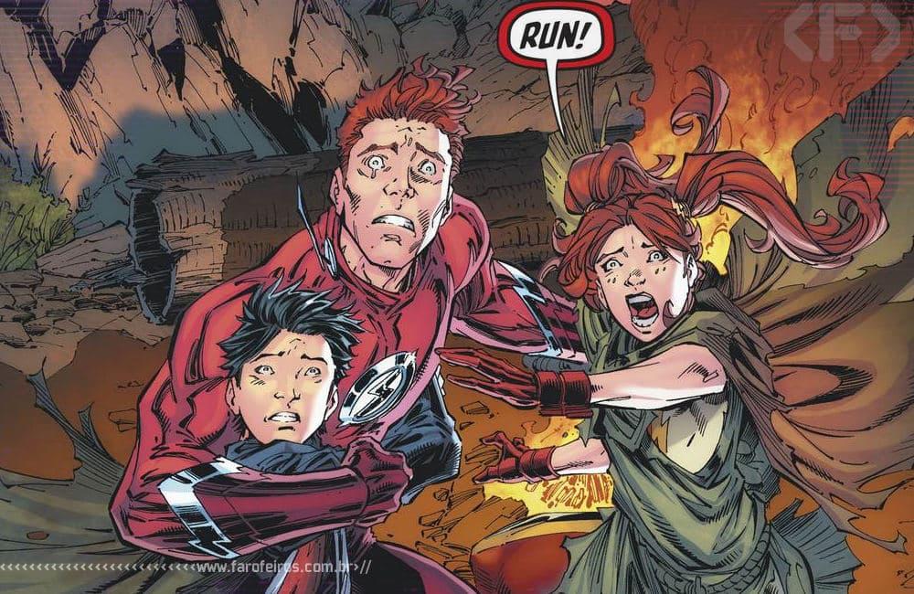 Outra Semana nos Quadrinhos #22 - Flash Foward #4 - Corra Wally - Blog Farofeiros