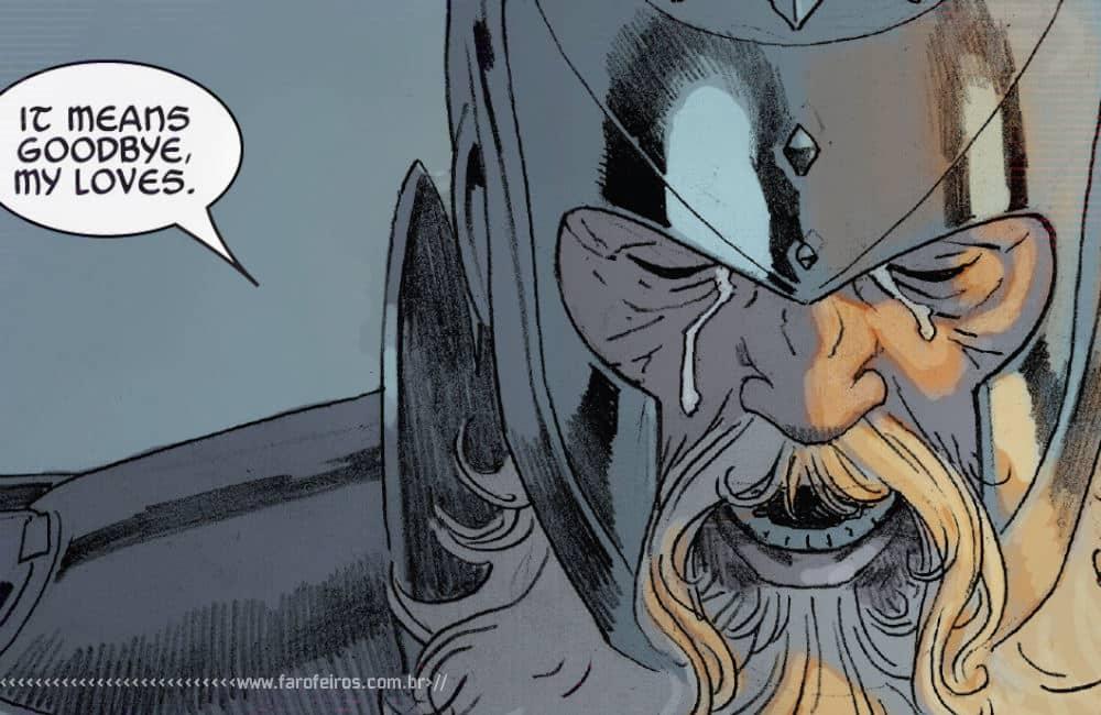Outra Semana nos Quadrinhos #22 - King Thor #4 - Rei Thor chorando - Blog Farofeiros