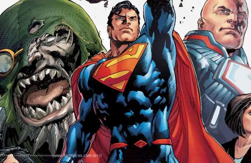 Superman nunca foi tão relevante - DC Comics - Ivan Reis - Blog Farofeiros