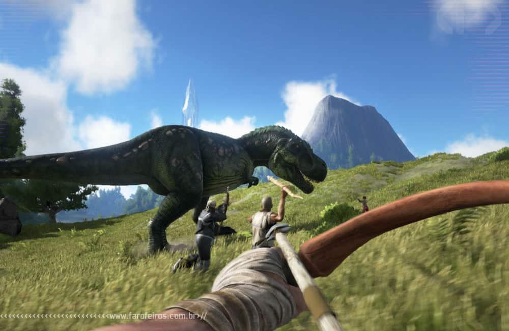 Ultra Farofeiros Videogame Awards 2019 Special Edition - ARK - Caçando T Rex - Blog Farofeiros