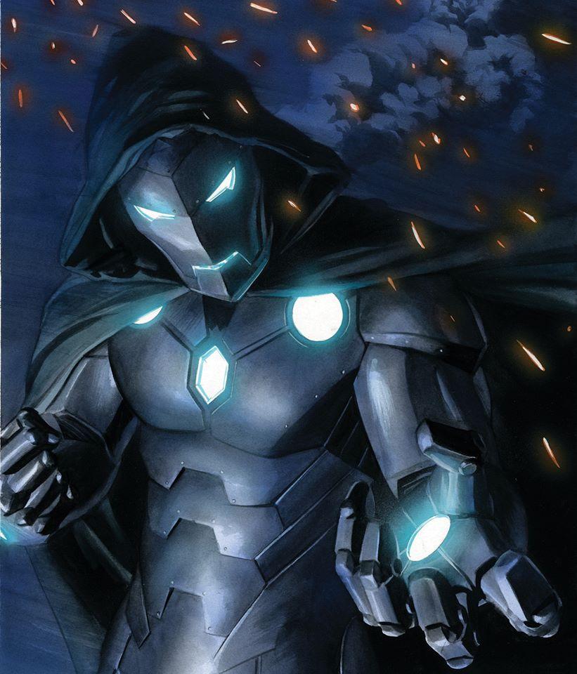A arte de Alex Ross - Doutor Destino - Homem de Ferro Infame - Blog Farofeiros