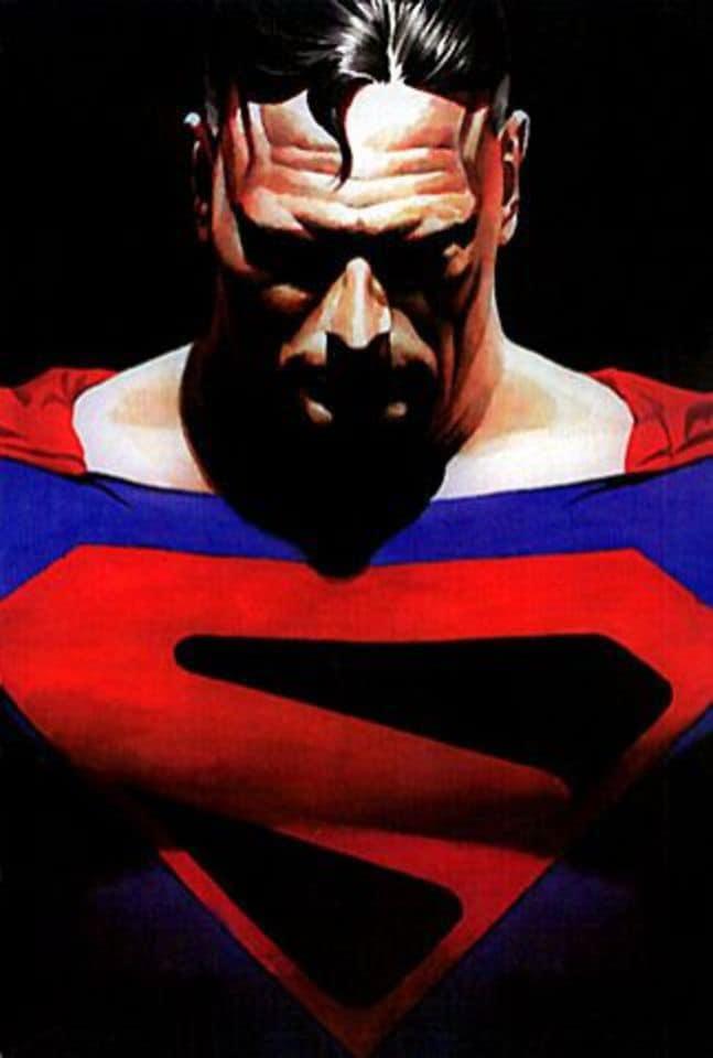 A arte de Alex Ross - Superman Reino do Amanhã - Blog Farofeiros