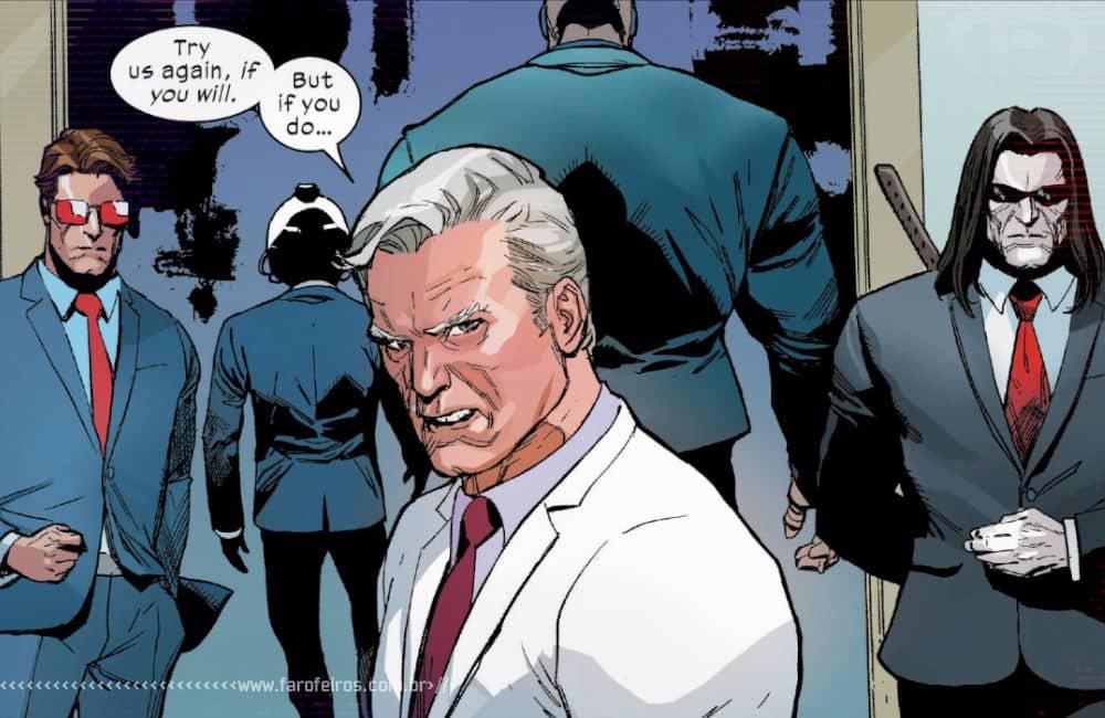 Política com Magneto em X-Men #4 - X-Men #4 - A lição na saída também- Blog Farofeiros