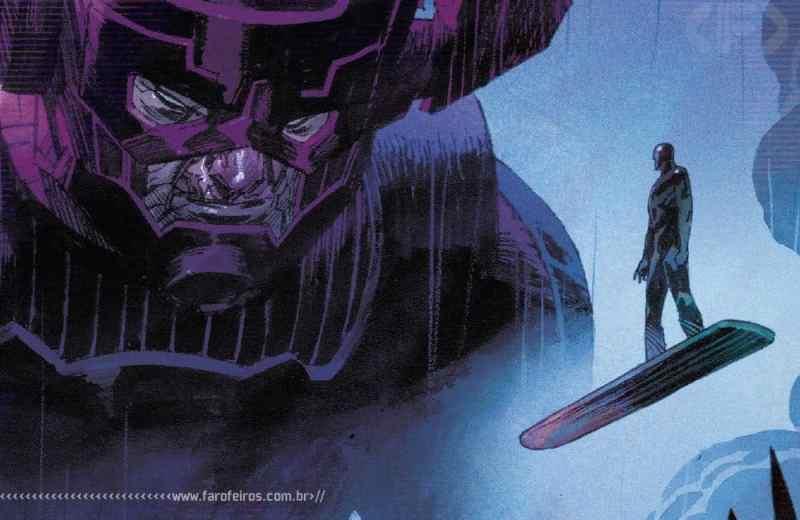 Thor de Donny Cates - Galactus - Surfista Prateado - Blog Farofeiros