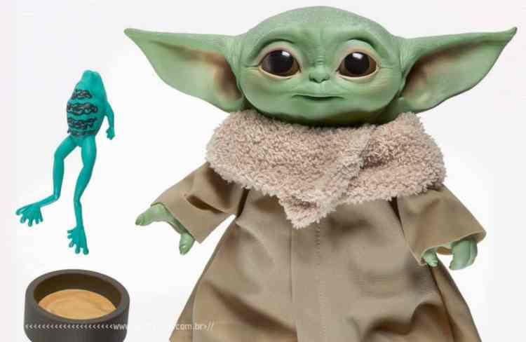 Você não quer um boneco do Baby Yoda - The Child - O Mandaloriano - Hasbro - Star Wars - Blog Farofeiros