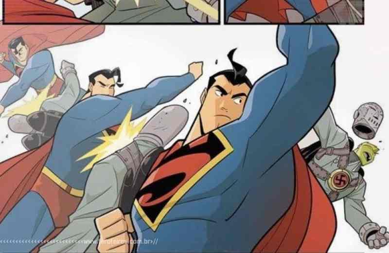 A origem do cidadão de bem - Superman Smahes the Klan - Blog Farofeiros