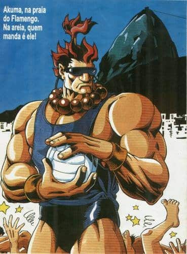 Street Fighter no Brasil - Akuma - Blog Farofeiros