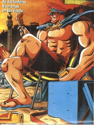 Street Fighter no Brasil - Bison - Blog Farofeiros