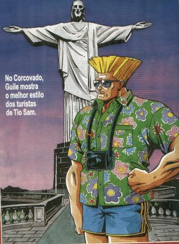 Street Fighter no Brasil - Guile - Blog Farofeiros
