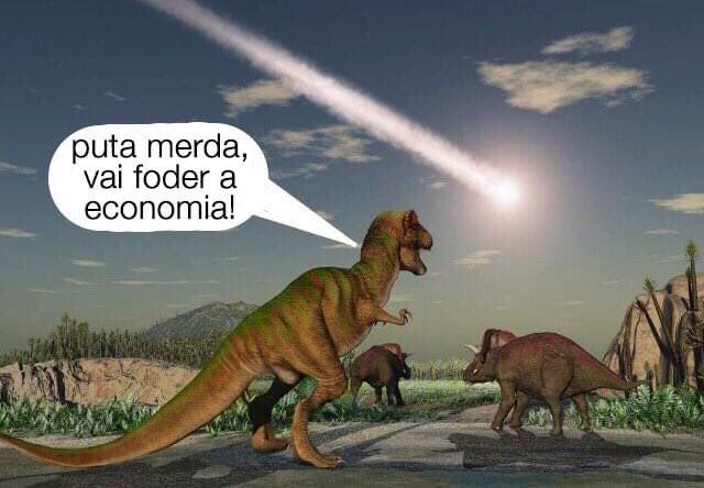 Memes para usar durante a quarentena - Blog Farofeiros - Fim da econômia