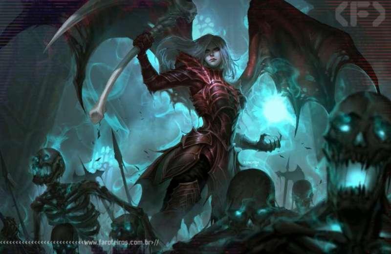 Eu quero trabalhar - Necromante - Blog Farofeiros