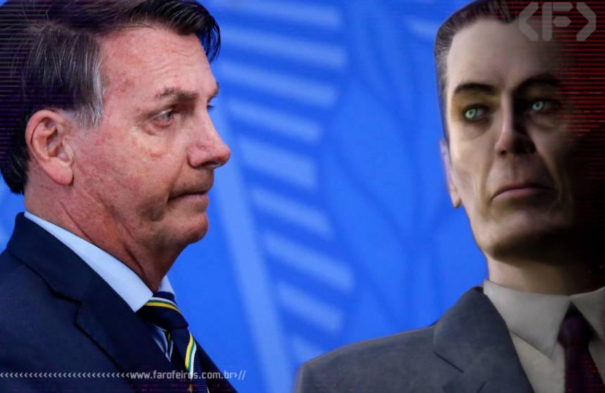 G-Man - Presidente - Half Life - Blog Farofeiros - 1