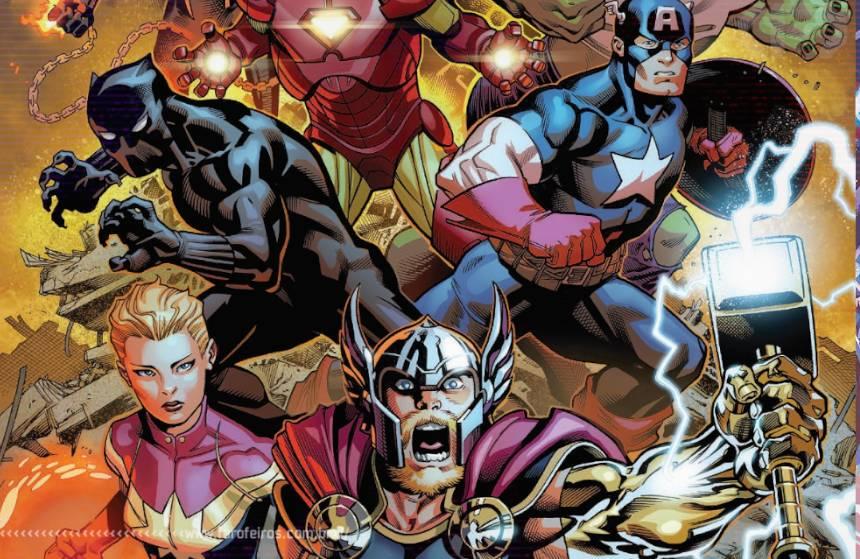 Marvel Unlimited de graça - Avengers - The Final Host - Jason Aaron - Blog Farofeiros