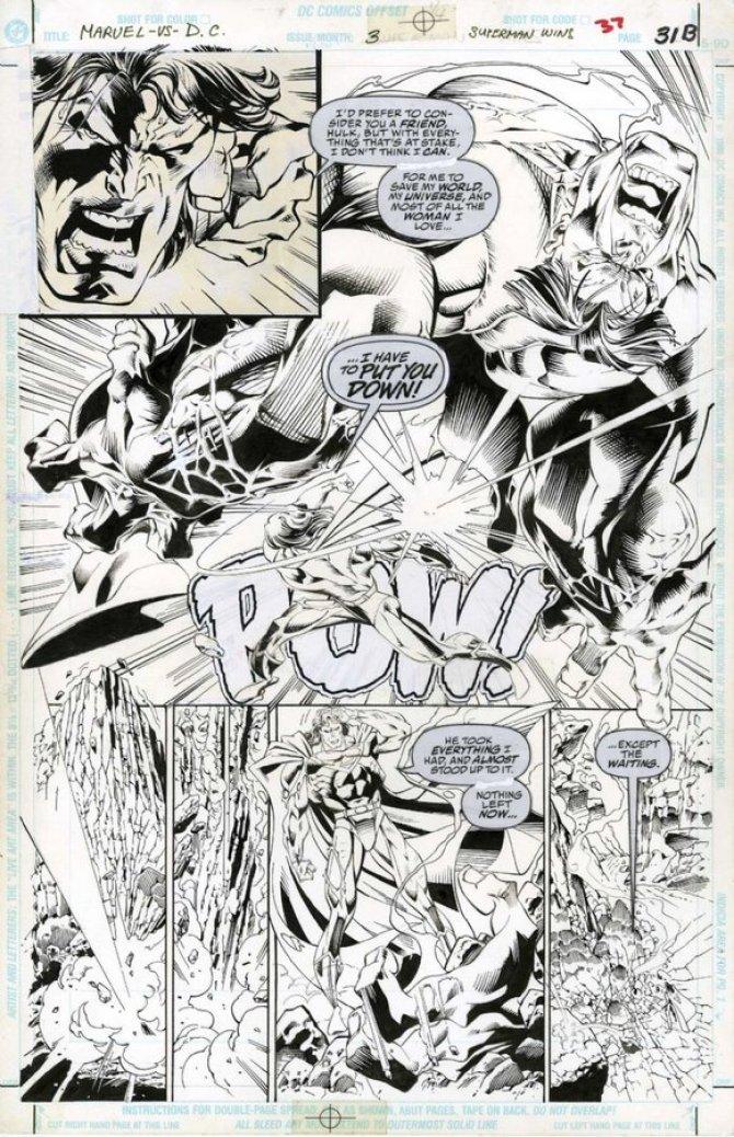 Marvel Vs DC - Final alternativo de Hulk Vs Superman - Superman vence - Blog Farofeiros