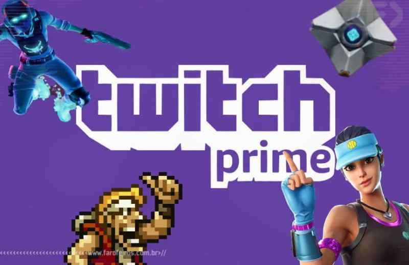 Vantagens do Amazon Prime - Twitch Prime - Blog Farofeiros