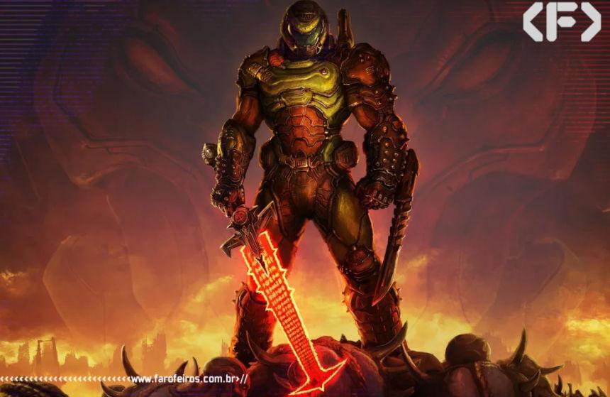 Doom Eternal - Blog Farofeiros - Geek Week Amazon