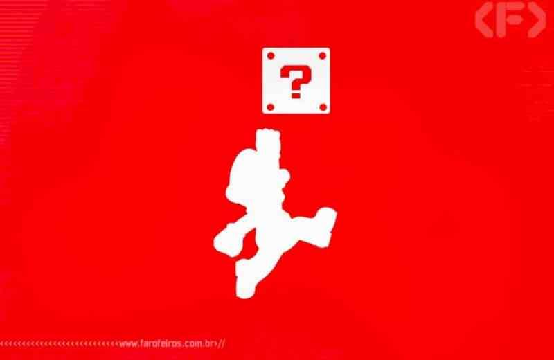 Interrogação do Super Mario - Nintendo - Blog Farofeiros
