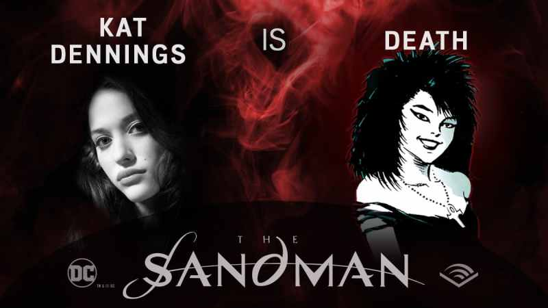 Kat Dennings - Morte - Sandman em audiobook - Blog Farofeiros