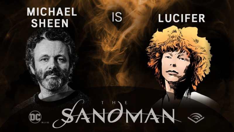 Michael Sheen - Lucifer - Sandman em audiobook - Blog Farofeiros