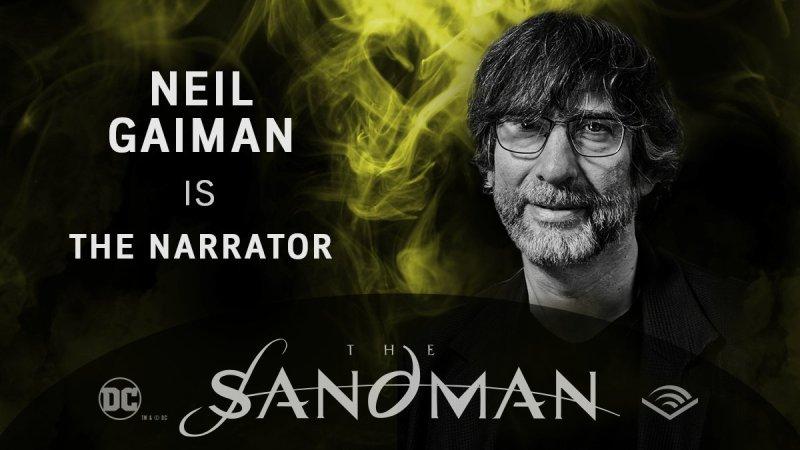 Neil Gaiman - Sandman em audiobook - Blog Farofeiros