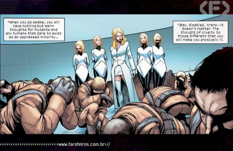 Rainha Branca - Marauders #10 - Outra Semana nos Quadrinhos #23 - Blog Farofeiros