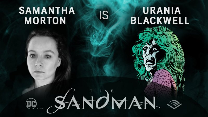 Samantha Morton - Urania Blackwell - Sandman em audiobook - Blog Farofeiros