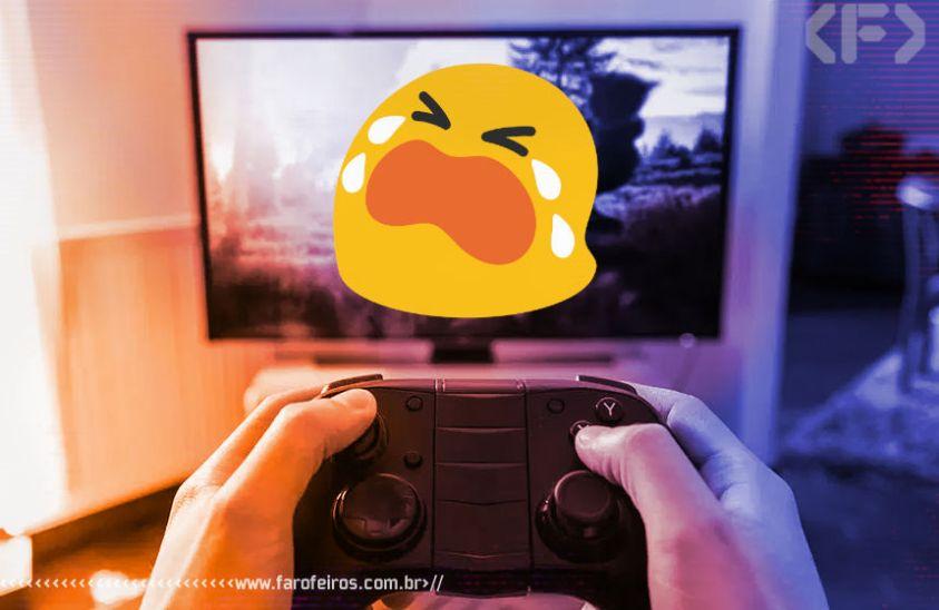 Videogame estraga a TV - Choro - Blog Farofeiros