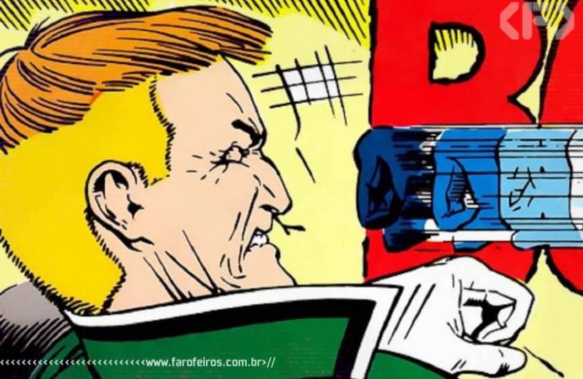 Heróis que odiamos - Guy Gardner - Lanterna Verde - Um soco - DC Comics - Blog Farofeiros