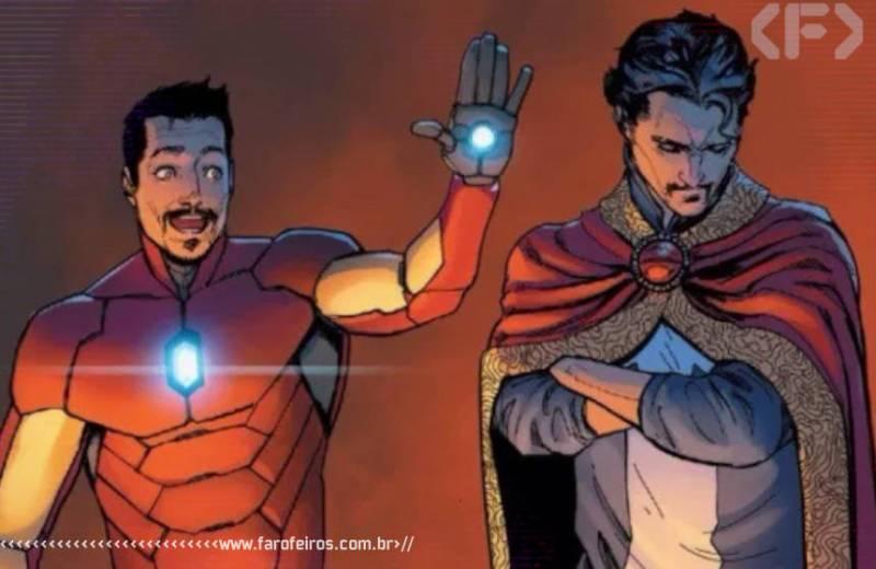 Heróis que odiamos - Tony Stark - Stephen Strange - Marvel Comics - Blog Farofeiros