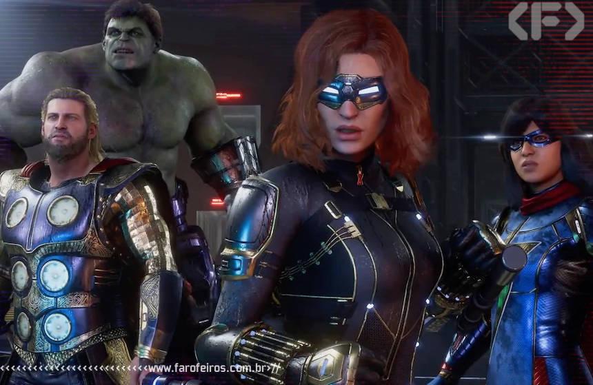 O jogo feio dos Vingadores - Marvel's Avengers - Blog Farofeiros