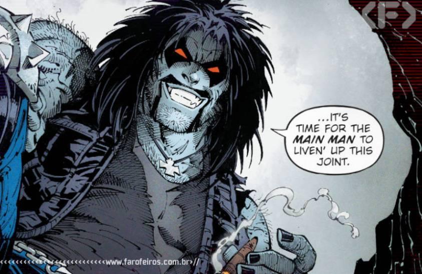 Outra Semana nos Quadrinhos #25 - Dark Night - Death Metal #1 - Lobo - Noites de Trevas - DC Comics - Blog Farofeiros