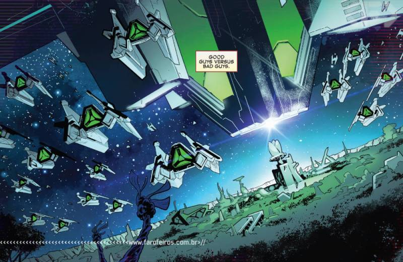 Fui enganado por Empyre #1 - Vingadores - Quarteto Fantástico - Kree - Skrull - Cotati - Blog Farofeiros