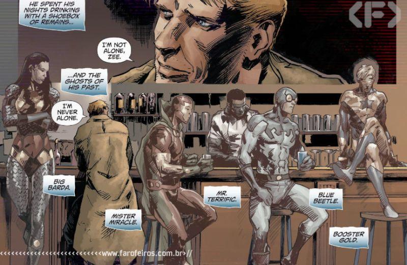 Outra Semana nos Quadrinhos #26 - DCeased - Dead Planet #1 - Constantine - Blog Farofeiros
