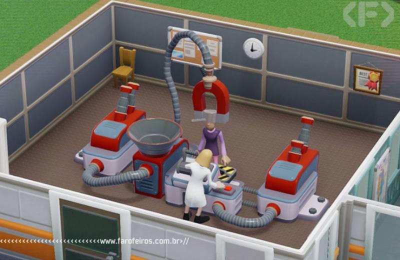 Two Point Hospital - SEGA - Blog Farofeiros