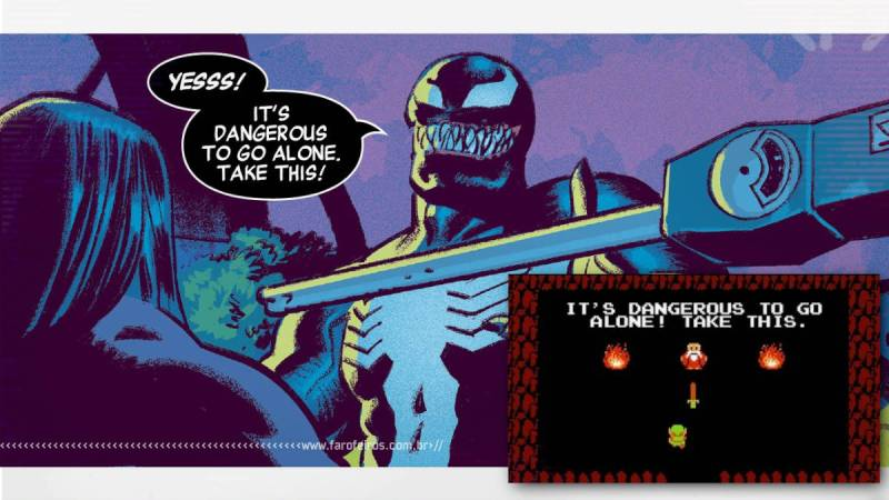 Conan no Brasil - Venom - Zelda - Blog Farofeiros
