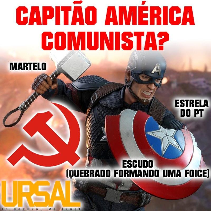 Capitão América Comunista - Blog Farofeiros